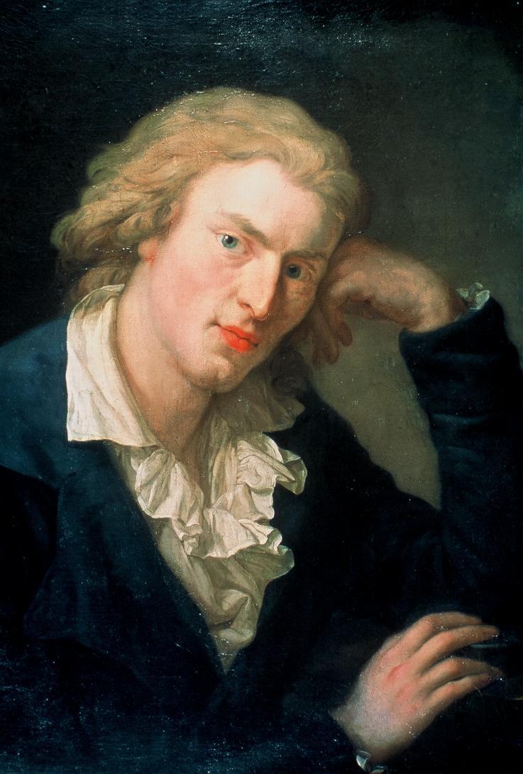 Portrait Friedrich Schillers.